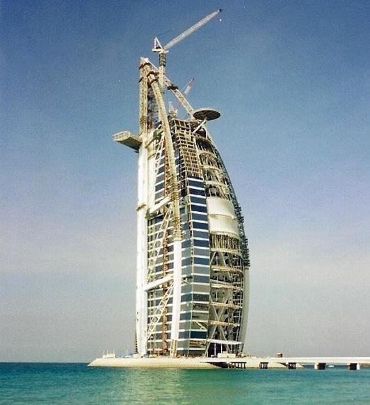 burj al arab construction