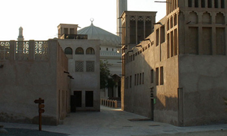The old Dubaï