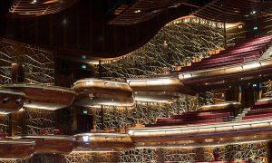 L'intérieur de l'opéra de Dubai.